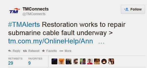 Berita Terkini Internet Unifi TM Slow September 2014