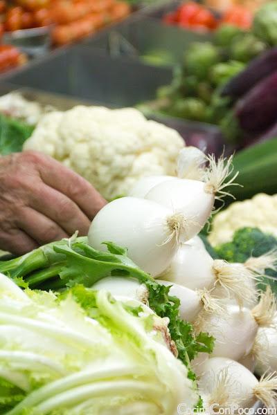 Parrillada de Verduras - Receta