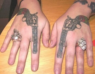Women Hand Tattoos 3