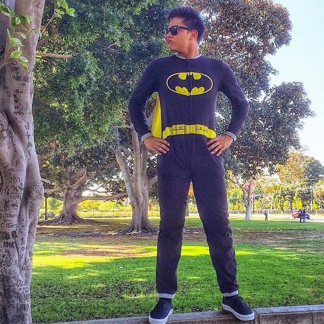 Spotted: Daniel Padilla transforms into Batman in LA