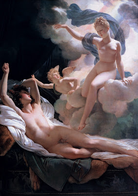 "Μορφεύς, god of dreams. Courtesy Wiki ""Morpheus & Iris"" by Pierre-Narcisse Guérin"