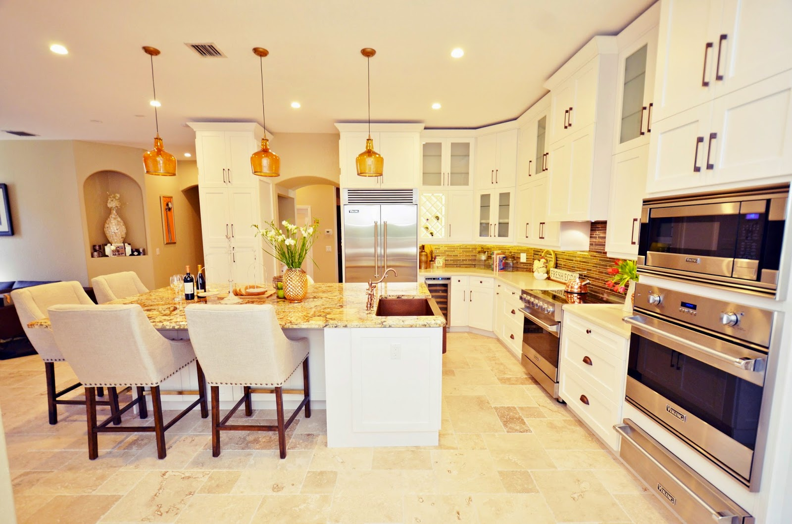 Live Laugh Decorate Live Laugh Decorate Kitchen Reveal A Contemporary Charmer Of A