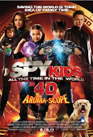 Download Spy Kids 4: All the Time in the World (2011) TS 300MB Ganool [ENGLISH]