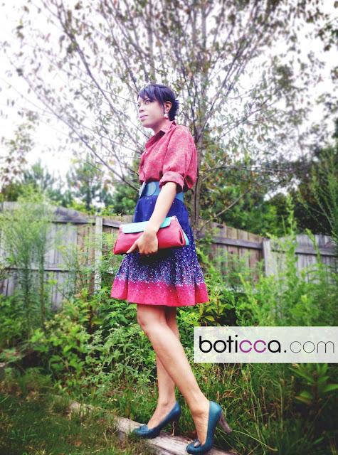 Boticca Handbags - streetstyle blogger