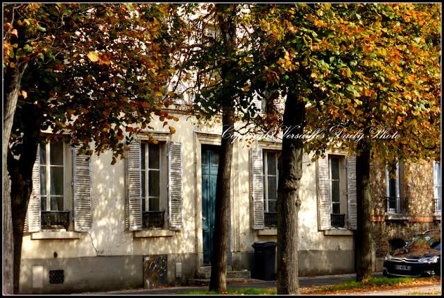 Autumn Versailles boulevard de la Reine
