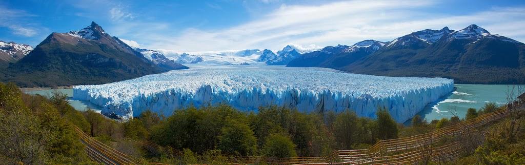 ペレト・モレノ氷河全貌 Perito Moreno Glacier Full picture