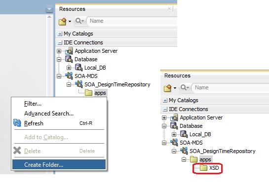 Create MDS Folder