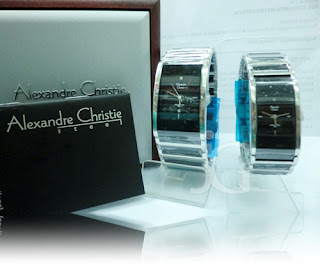 ALEXANDRE CHRISTIE 8252 MD COUPLE BLACK (ORIGINAL) Rp 1.535.000