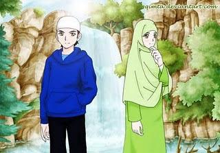Muslim dan Muslimah, Lelaki Soleh, Wanita Solehah, Lelaki Baik, Perempuan Baik, Aurat, Menutup Aurat, Menutup Aurat Fitrah