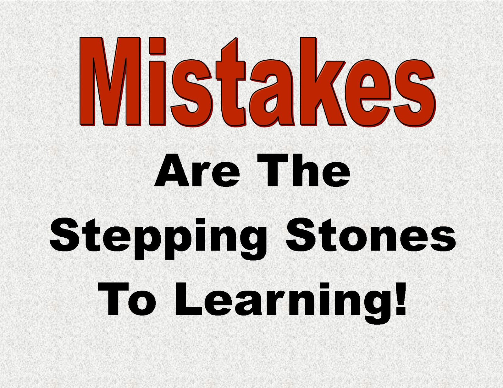 Quotes About Love Mistakes : Quotes and Sayings: Mistakes teach you important lessons