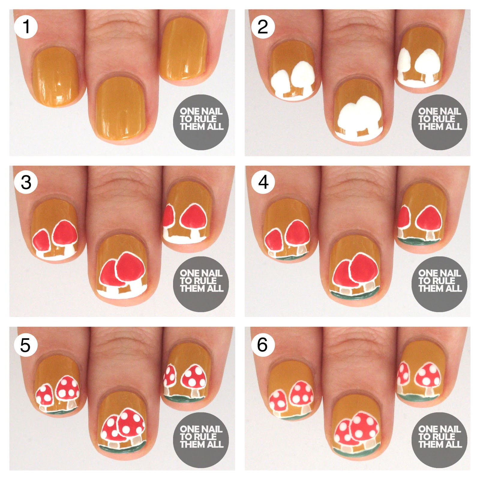 Nail designs with crosses step by step