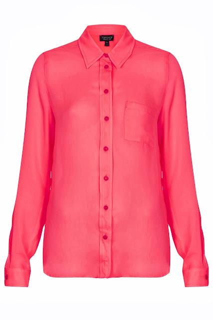 bright pink shirt