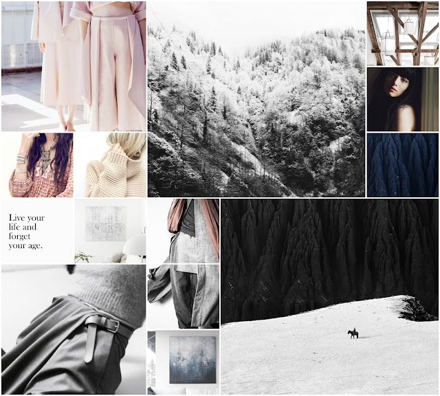 late winter moodboard