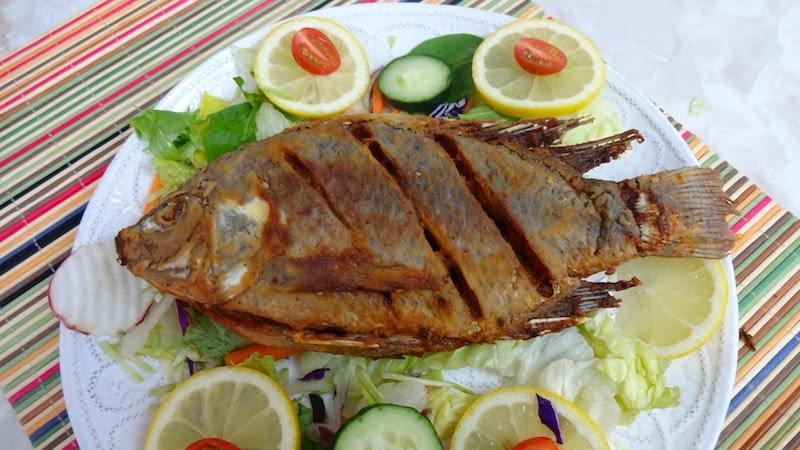 Pescado frito mojarra tilapia mi cocina r pida for Comida para tilapia