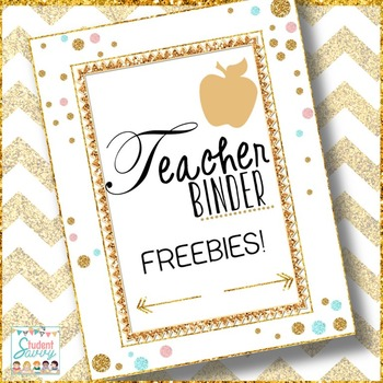 Teacher Binder Free Resource!