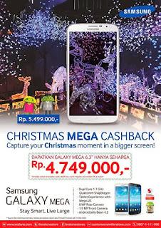Christmas Mega Cashback