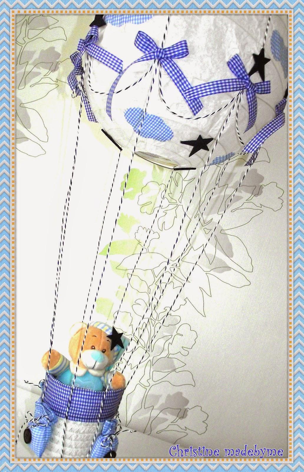 Παιδικό φωτιστικό - αερόστατο