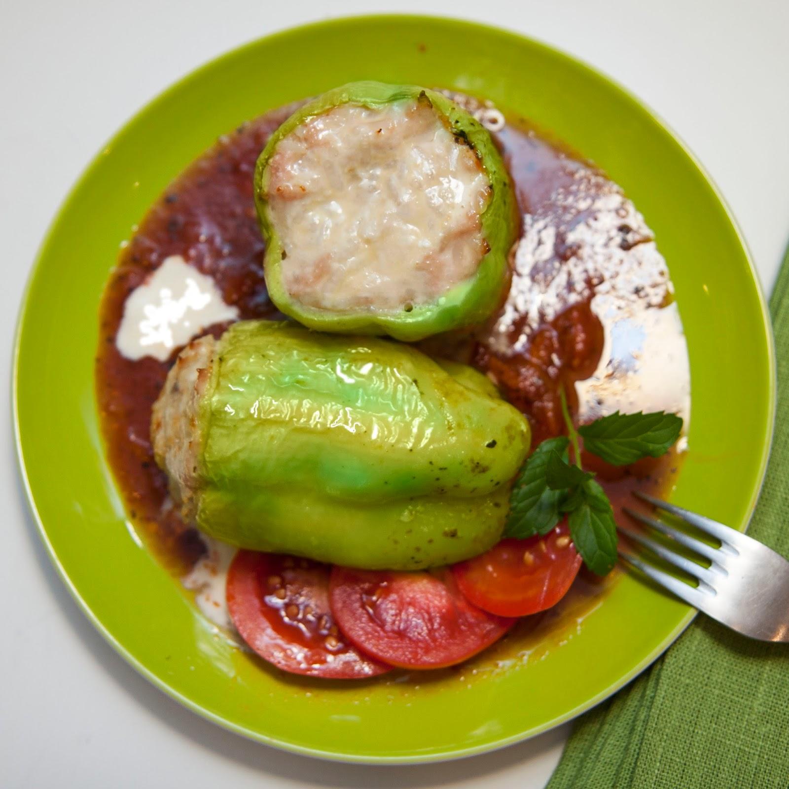 фаршированный сладкий перец рецепт с фото