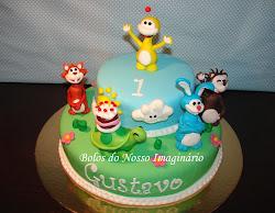 Bolo de Aniversário Uki