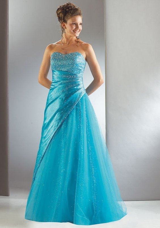 Unusual long prom dresses