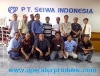 Lowongan Kerja Operator Produksi PT Seiwa Indonesia-MM2100 Bekasi