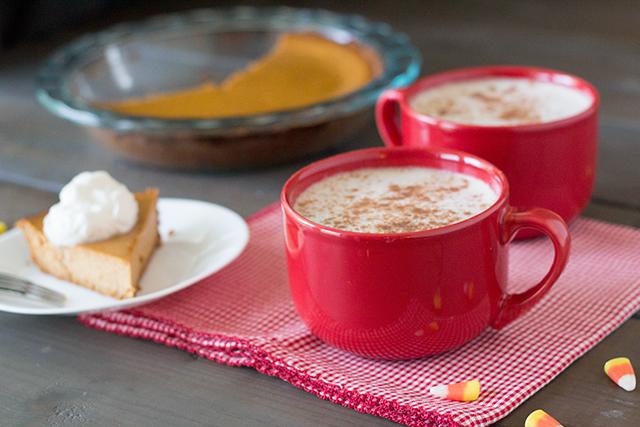 Easy one-mug Pumpkin Spice Latte DIY Recipe. #PSL