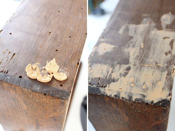 C mo eliminar la carcoma - Como eliminar la polilla de la madera ...