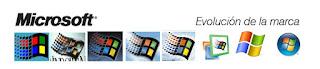 evolución logotipo Microsoft