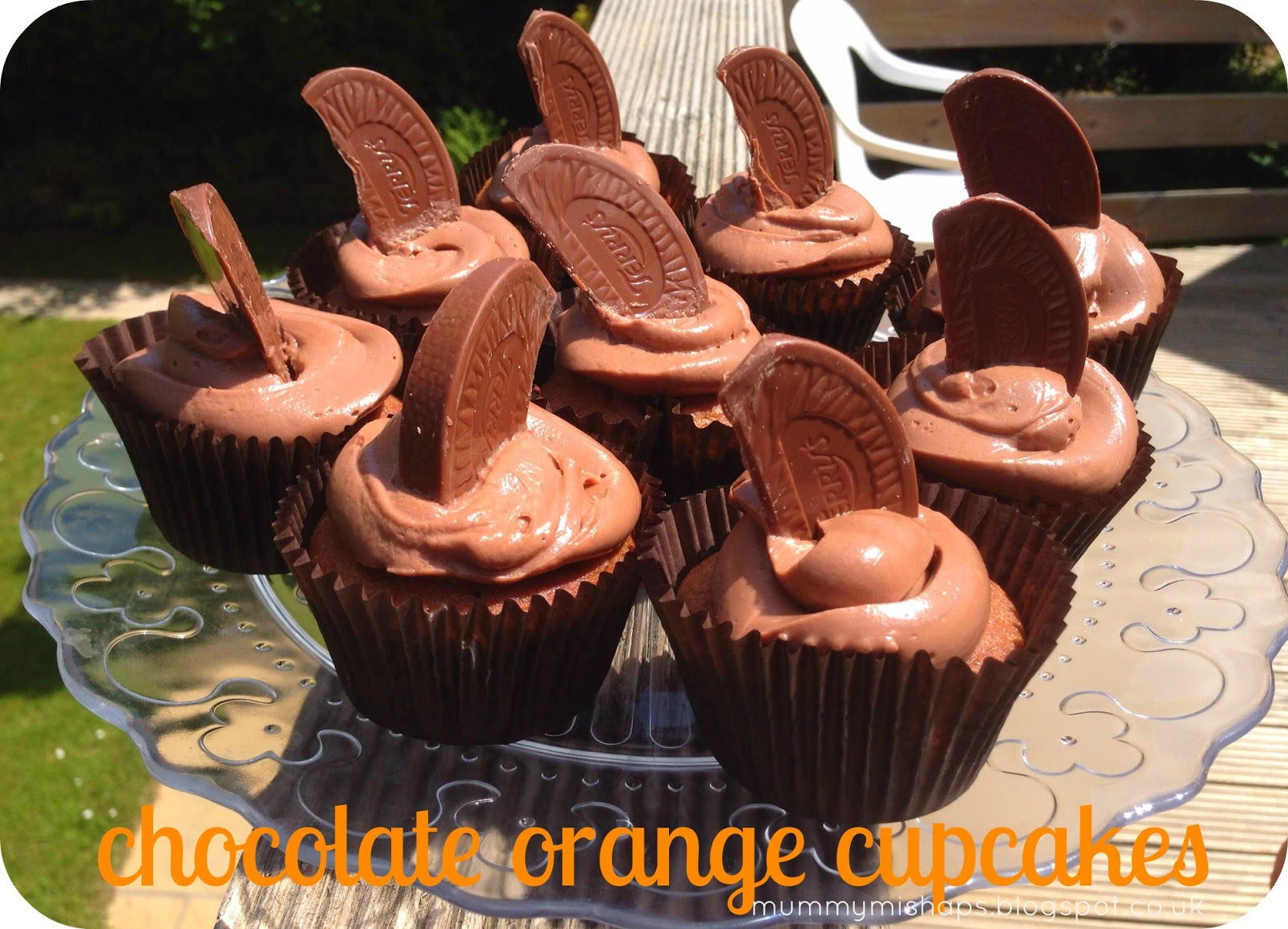 Chocolate Orange Cupcakes Mummy Mishaps