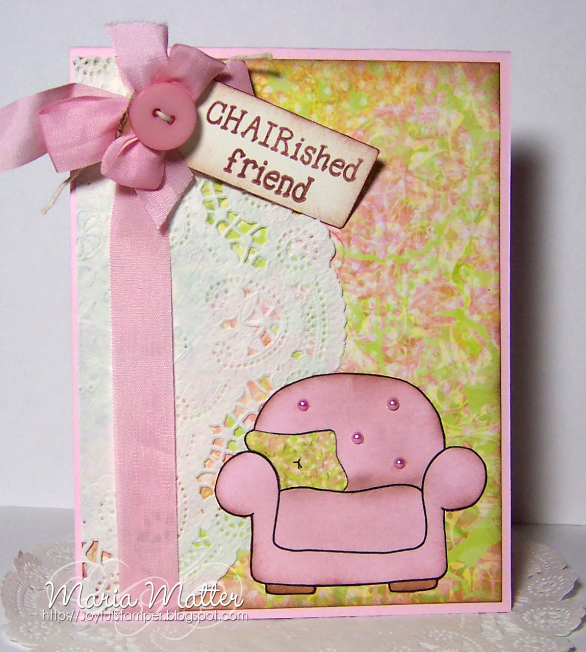 Joyful Stamper: Shabby Chic @ Joys Life Stamps (11-23)