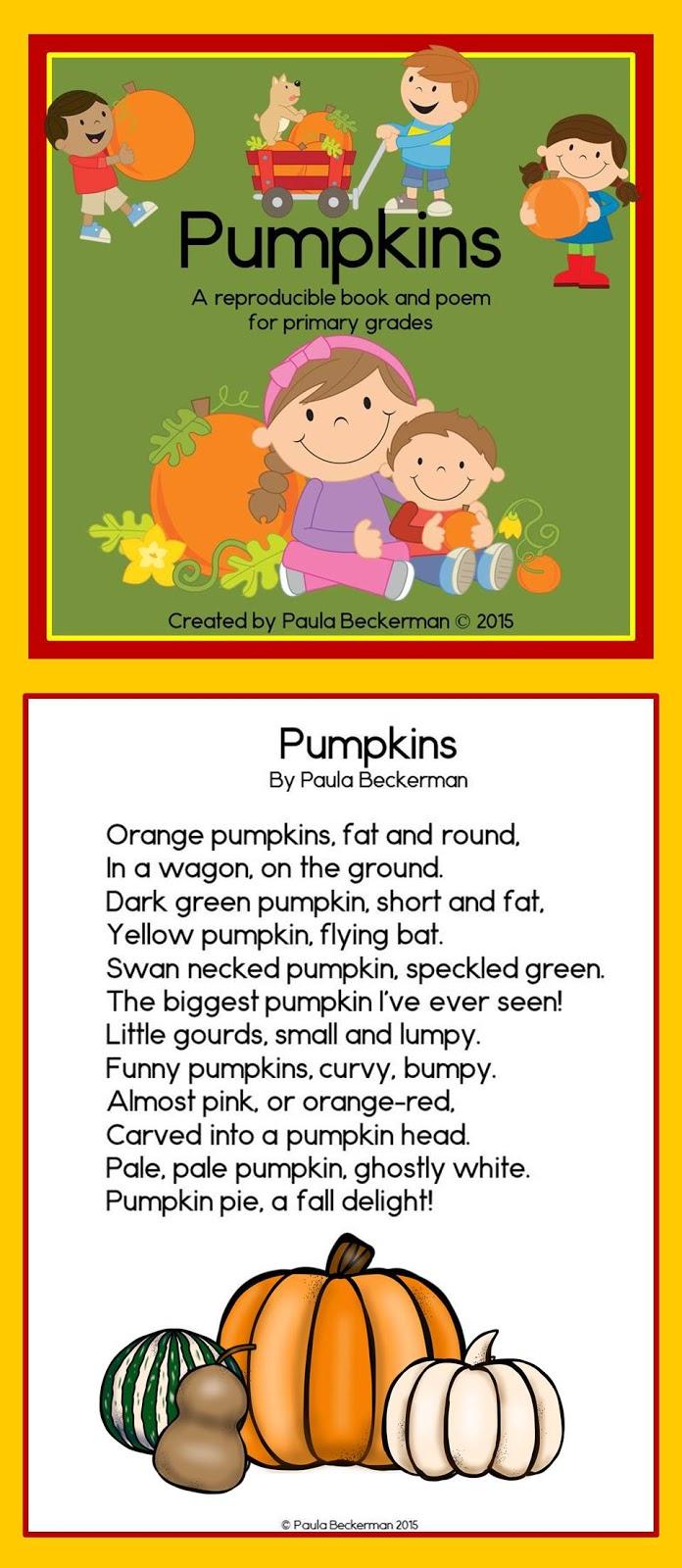 pumpkin rhymes preschool paula s primary classroom big pumpkin 206