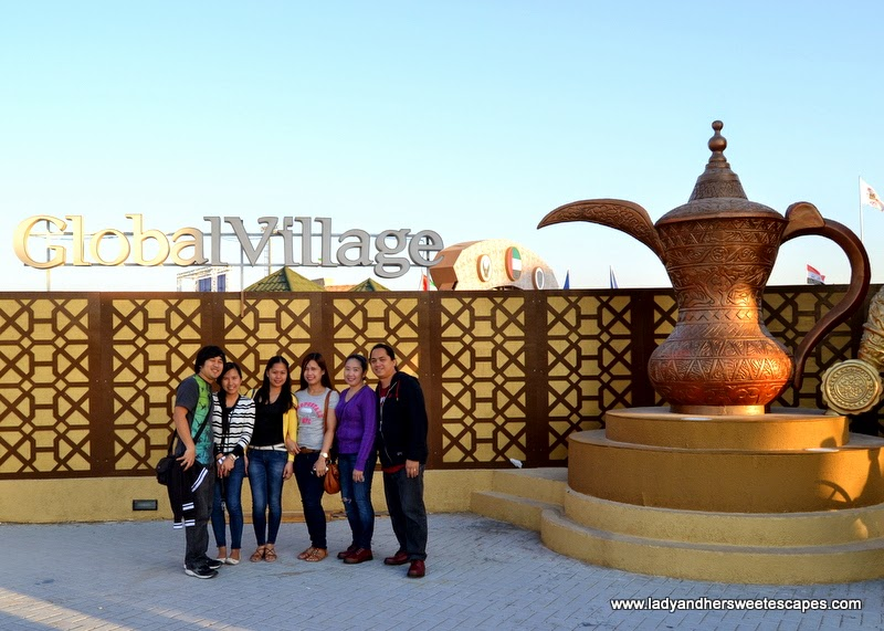 groupie at the Global Village