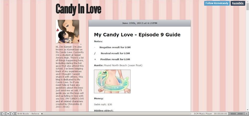 Candy in love - a fordításokhoz használt oldal