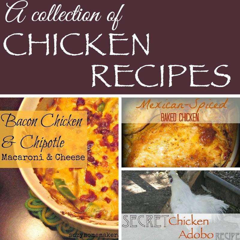 a collection of chicken recipes | suzyhomemaker.net