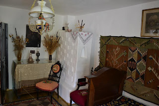 "Bedroom of Memorial House ""Alexander Vlahuţă"""