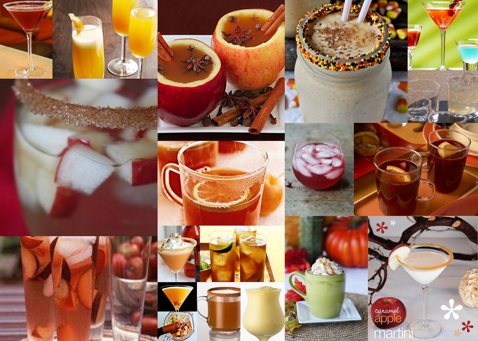 Fall in love with fun fall drinks for adults just the for Fun fall drinks
