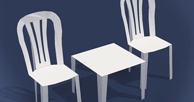 Table Amp Chairs Papercraft Papercraft Paradise