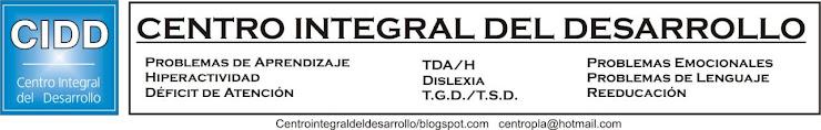 CENTRO INTEGRAL DEL DESARROLLO   CIDD
