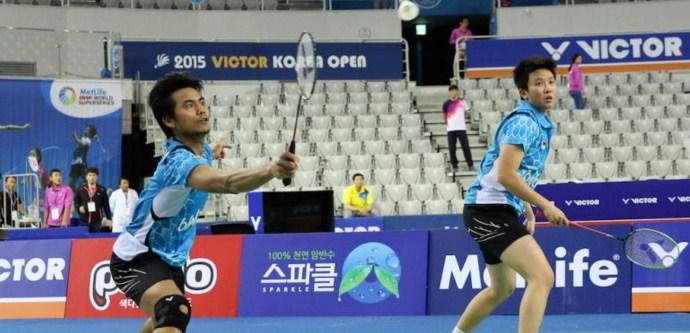 Tontowi Ahmad/Liliyana Natsir Denmark Open Super Series Premier 2015