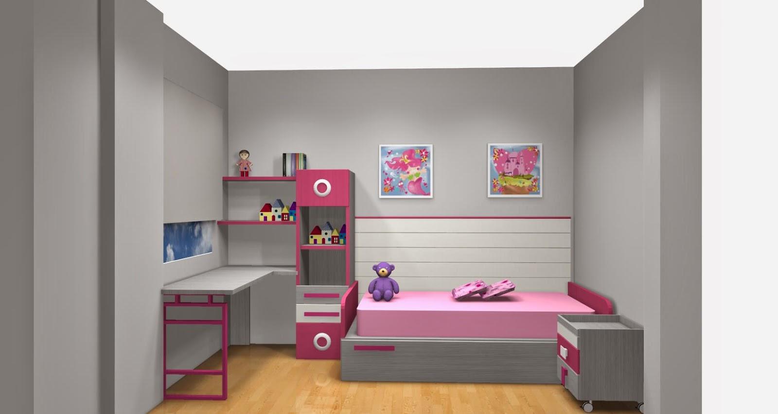 Amueblar habitacion en xikara - Habitacion infantil verde ...