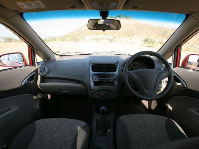 Chevrolet Sail Sedan dashboard