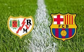 مباراة برشلونة ورايو فاليكانو اليوم