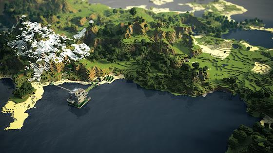 Panoarama Minecraft