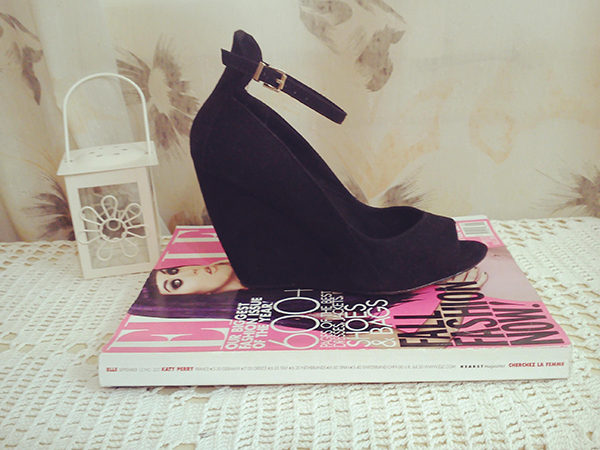 shoes, new shoes, black shoes, black pumps, black wedges, blogger, fashion blogger