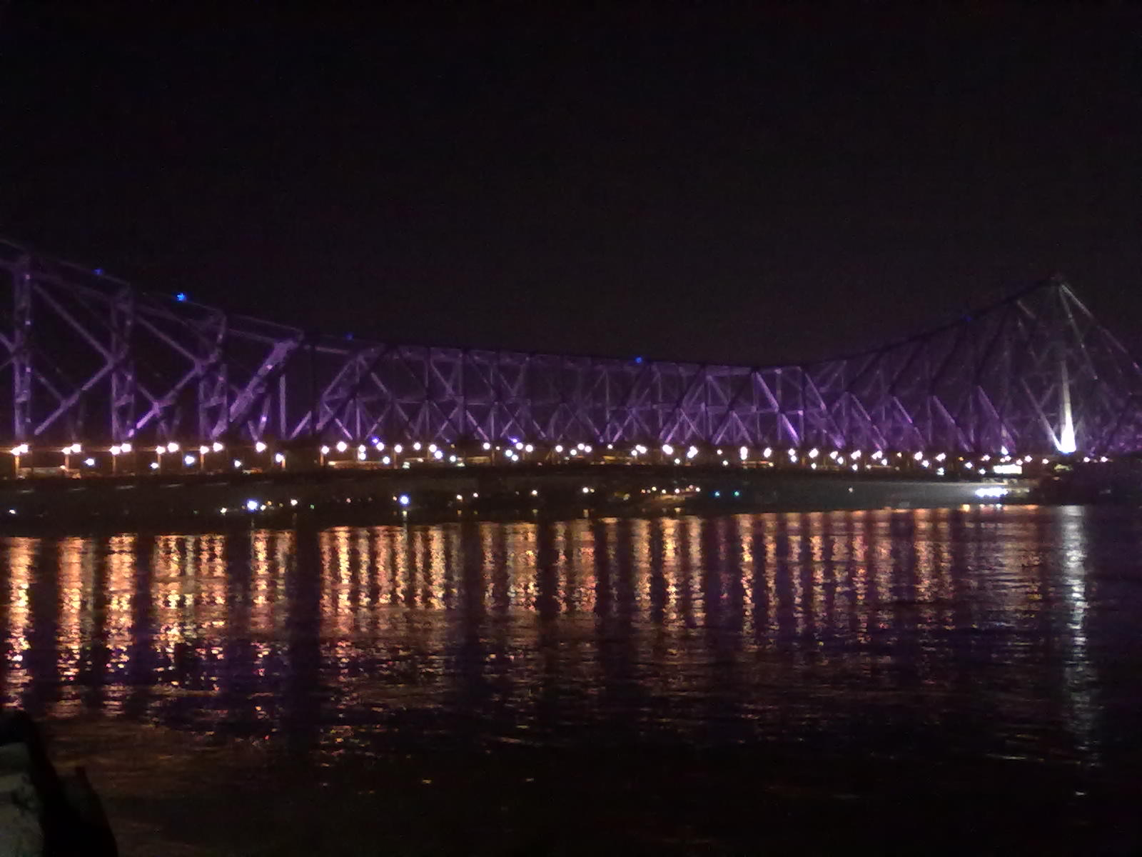 KOLKATA BLOG: Howrah Bridge At Night