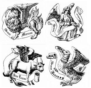 Simbología de los cuatro evangelistas