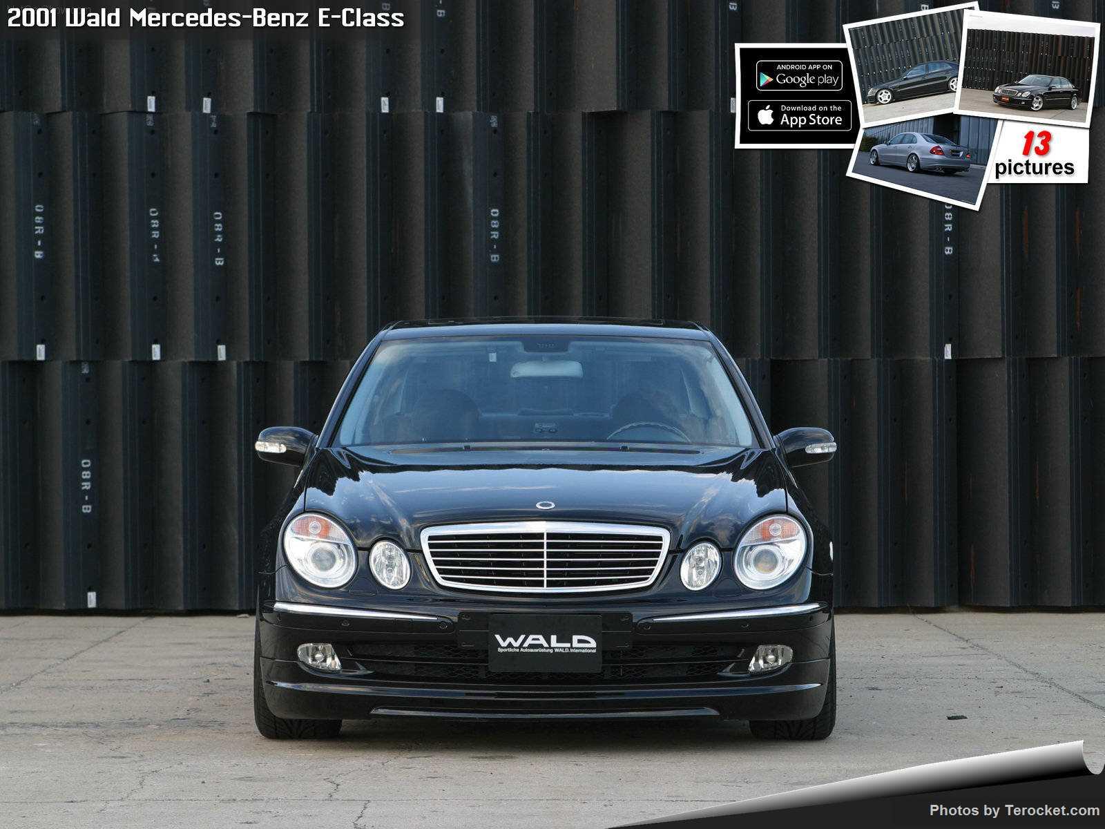 Hình ảnh xe độ Wald Mercedes-Benz E-Class 2001 & nội ngoại thất