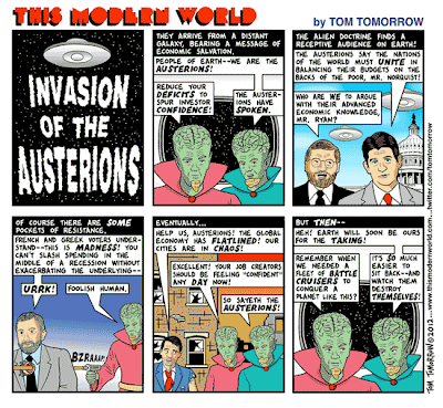 Tom Tomorrow | The Austerians