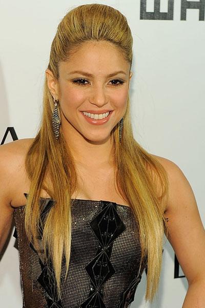 Shakira: los dis peinados de shakira Shakira La