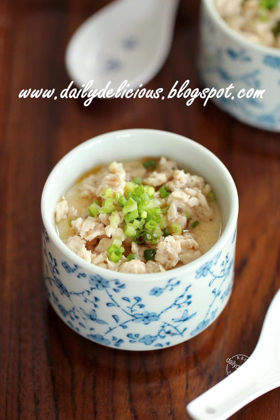 Dailydelicious happy cooking with lg solardom chinese style happy cooking with lg solardom chinese style steamed egg with minced chicken forumfinder Gallery